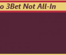 Поп Ап 3Бет не All-in
